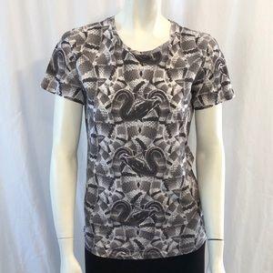 Marcelo Burlon snake pattern shortsleeve Tshirt XS